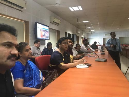 8Millet Walkathon website launched at Indian Institute of Millets Research Center, Hyderabad on 20th Oct 2018.